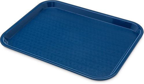 "Carlisle - Cafe® Fast Food Cafeteria Tray 10"" x 14"" - Blue"