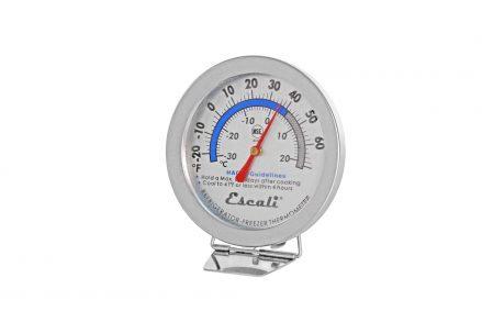 "San Jamar- Escali Refrigerator/Freezer Thermometer, 2-7/8"" dial diameter"