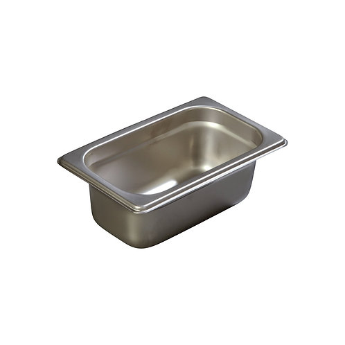 "Carlisle- DuraPan™ Steam Table Pan, 1/9-size, 0.6 qt., 2-1/2"" deep"