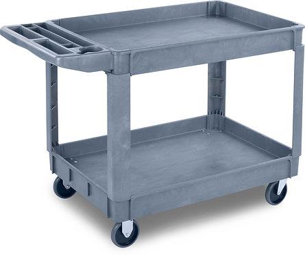 "Carlisle- Bin Top Utility Cart, 500 lb. capacity, 45""L x 25""W x 33""H"