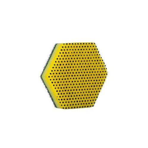 3M™  Scotch-Brite™ Dual Purpose Scour Pad 96HEX,Hexagon 5.0 inch x 5.75 inch