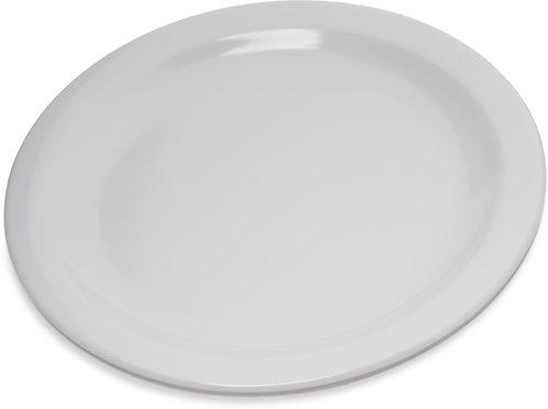 """Carlisle- Dallas Ware® Melamine Salad Plate 7.25"""" - White"""