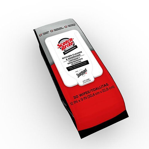 3M Scotch-Brite™ Kitchen Cleaner & Degreaser Wipes with Scotchgard™ Protector