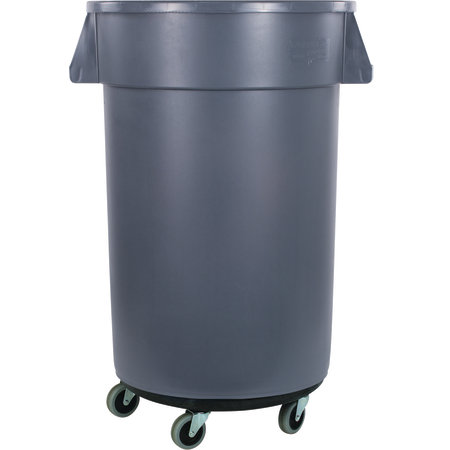 Carlisle- Bronco™ Waste Container, with black twist-to-lock dolly, 32 gallon