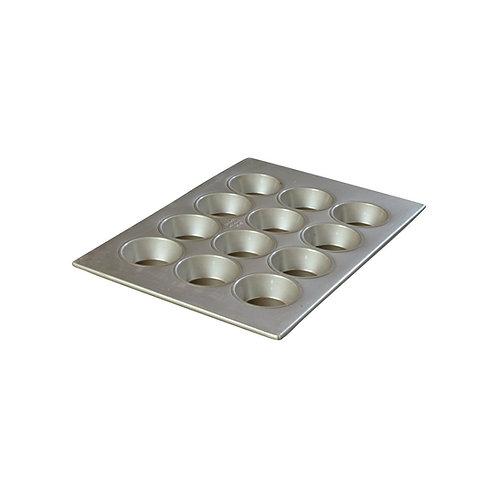 "Carlisle- Steeluminum® Cupcake Pan, 12 cup, 4 oz, 17-3/4""L x 12-7/8""W"
