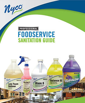Nyco Foodservice Sanitation Guide