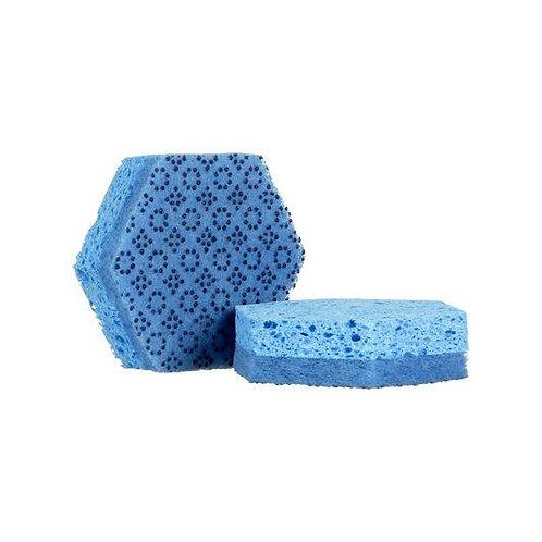 3M™  Scotch-Brite™ Low Scratch Scour Sponge 3000HEX NA 4.45X3.85in(113mm X 98mm)