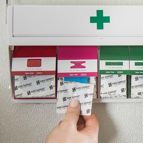 San Jamar- Mani-Kare® Bandages Kit, with storage box