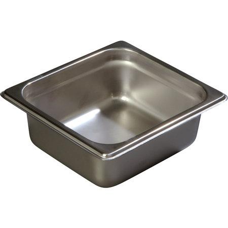 """Carlisle- DuraPan™ Steam Table Pan, 1/6 size, 1.10 qt., 2-1/2"""" deep"""