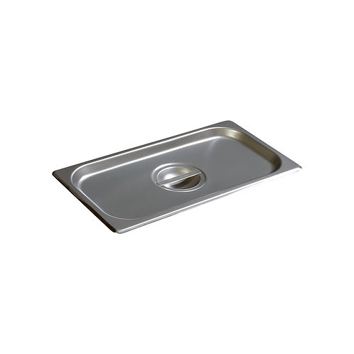 Carlisle- DuraPan™ Steam Table Pan Cover,1/3 size, solid, flat, lift-off