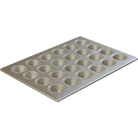 "Carlisle- Steeluminum® Mini-Muffin/Cupcake Pan, 24 cup, 1-3/4 oz, 18""L x 13""W"