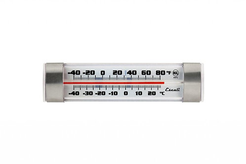 "San Jamar- Escali Refrigerator/Freezer Thermometer, 1-1/4 x 4-3/4 x 3/4"""