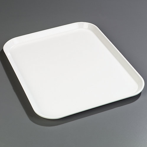 "Carlisle - Glasteel™ Fiberglass Tray 18"" x 14"" - Bone White"