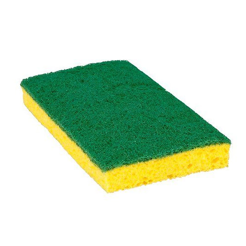 3M™  Scotch-Brite™ Medium Duty Scrub Sponge 74CC, 6.1 in x 3.6 in x 0.7in