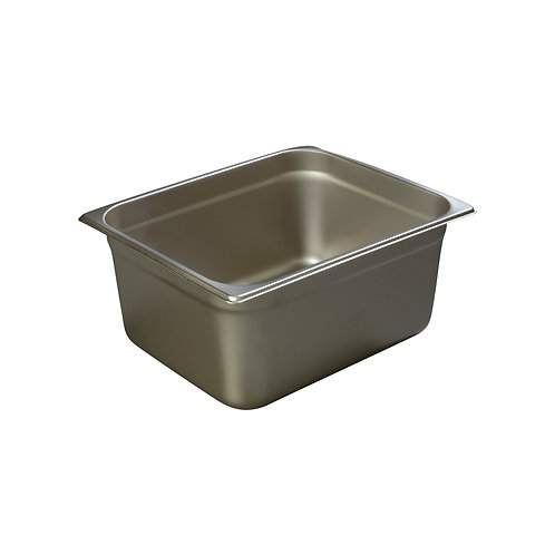 "Carlisle- DuraPan™ Steam Table Pan, 1/2-size, 10.3 qt., 6"" deep"