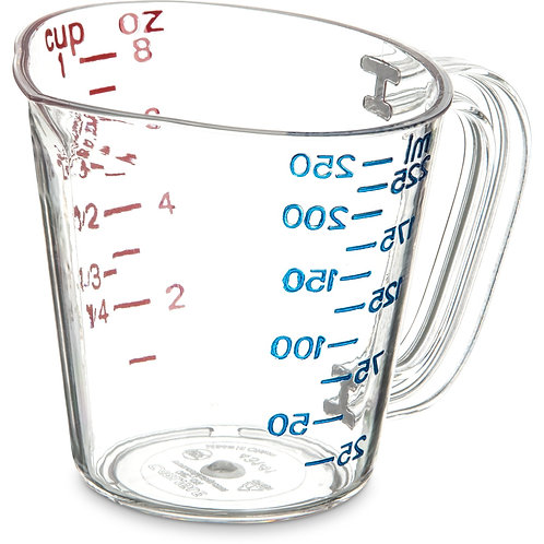 Carlisle- Measuring Cup, 8 oz.
