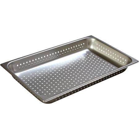 "Carlisle- DuraPan™ Steam Table Pan, full size, perforated, 10.4 qt., 2-1/2"" deep"