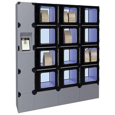 Hatco Floor Mount Locker System