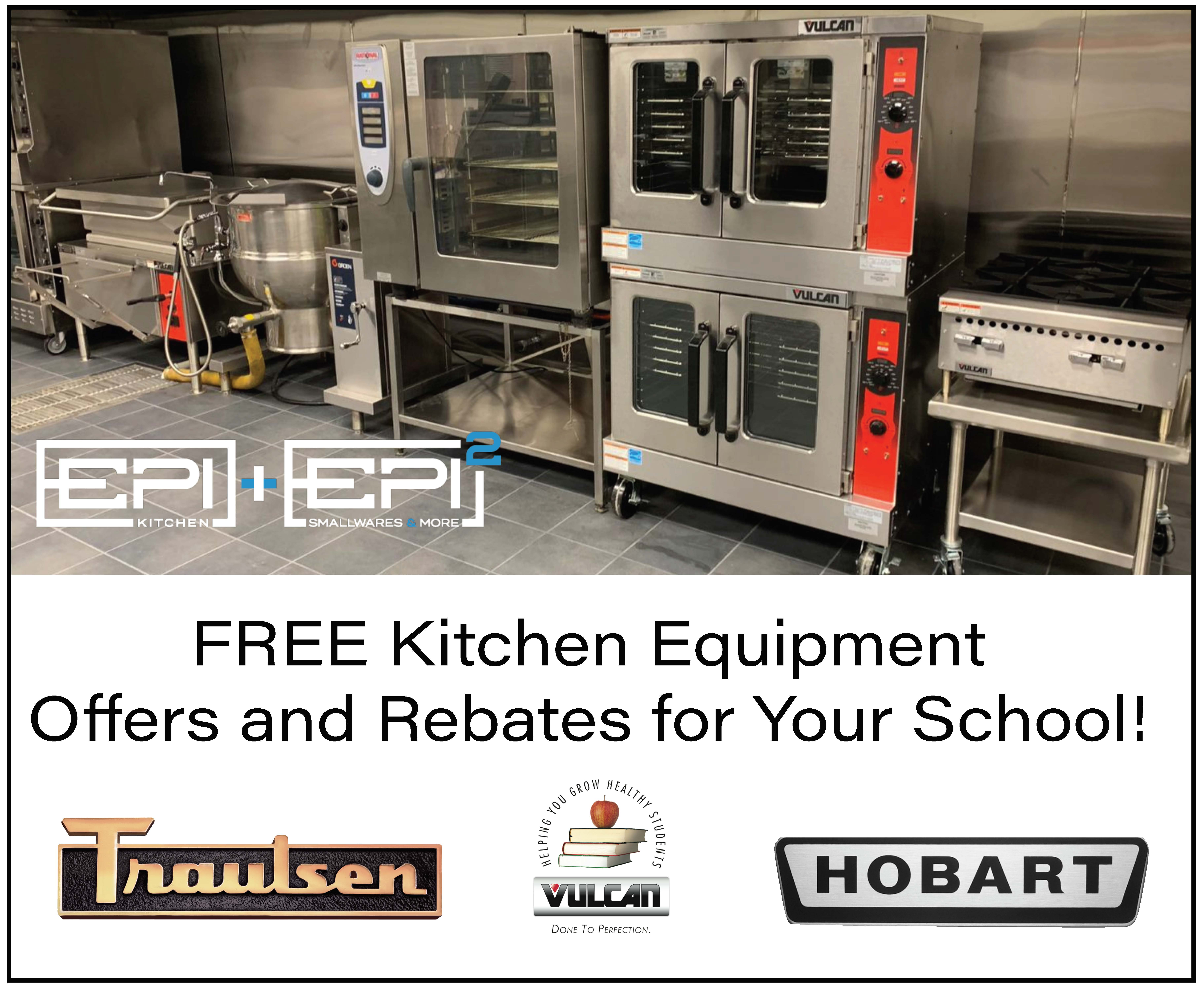 FREE KITCHEN EQUIPMENT OFFERS AND REBATES