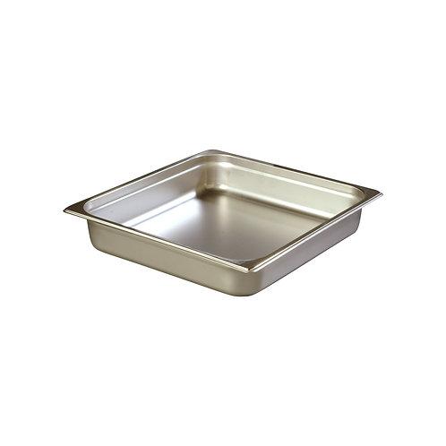 """Carlisle- DuraPan™ Steam Table Pan, 2/3-size, 6 qt., 2-1/2"""" deep"""