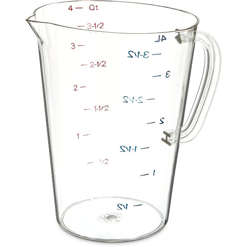 Carlisle- Measuring Cup, 128 oz.