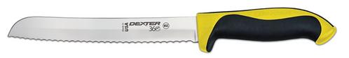 """Dexter 360 8"""" Scalloped Bread Knife"""