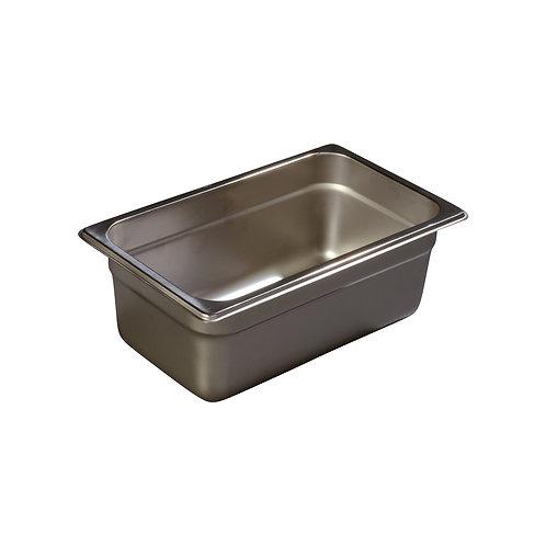 """Carlisle- DuraPan™ Steam Table Pan, 1/4-size, 3 qt., 4"""" deep"""