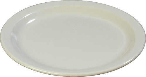 "Carlisle- Dallas Ware® Melamine Dinner Plate 9"" - Bone"