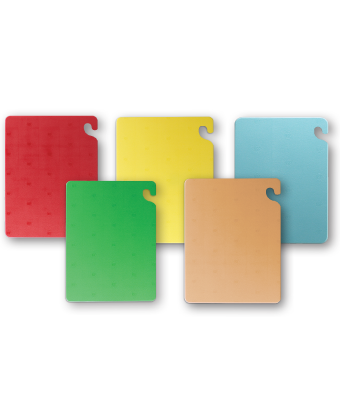San Jamar- Cut-N-Carry® Cutting Board Set