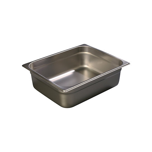 "Carlisle- DuraPan™ Steam Table Pan, 1/2-size, 6 qt.,4"" deep"
