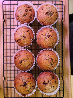 Jerry's Chocolate Chip Banana Muffin - D