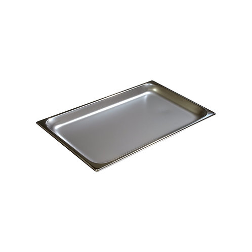 "Carlisle- DuraPan™ Steam Table Pan, full size, 4.2 qt., 1"" deep"