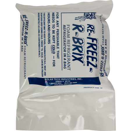 San Jamar- EZ-Chill™ Refreezable Ice Packs