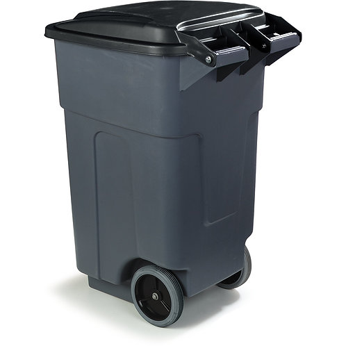 Carlisle- Bronco™ Roll-Away Waste Container, 50 gallon