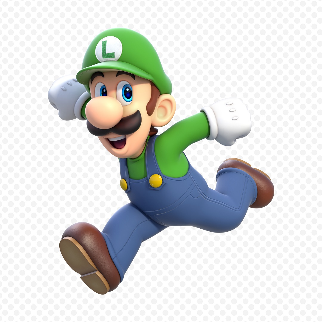 SM3DW Luigi