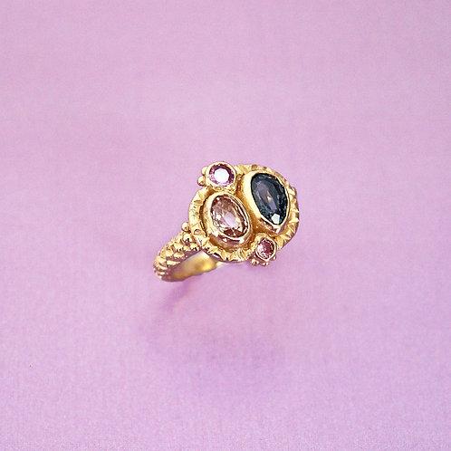 Pink & Purple Queenie Ring