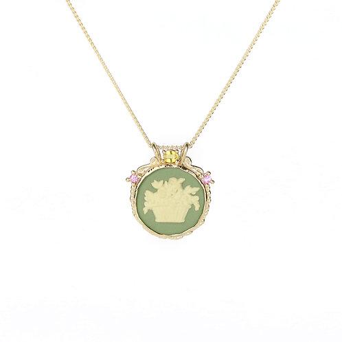 Green Garland Necklace