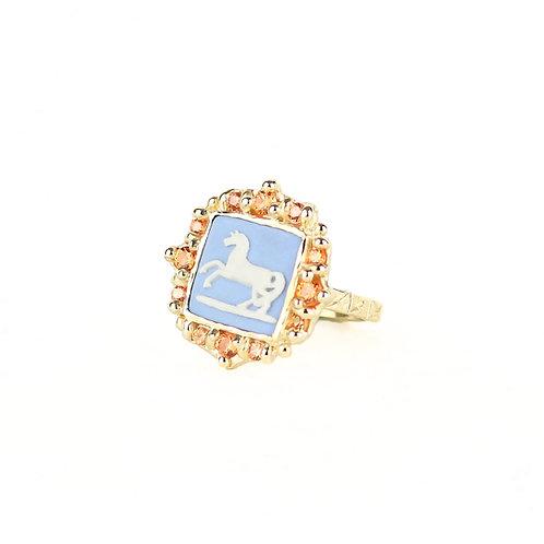 Pony Cameo Ring