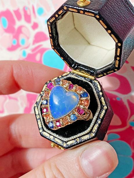 Opal Lover Ring