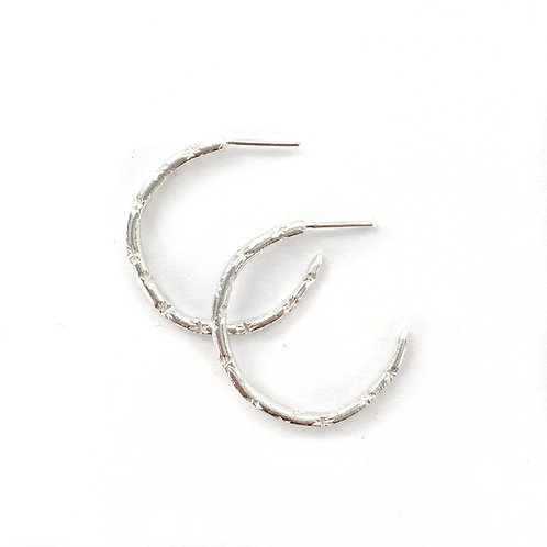 Medium Starry Hoops