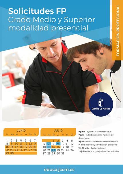 Admisión a ciclos de formación profesional de grado medio y superior