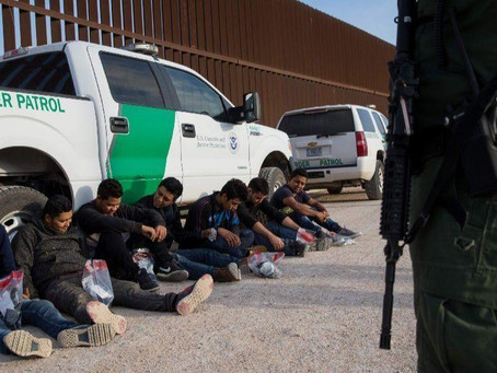 Border Patrol agents in Brownsville apprehends four illegal immigrants from Bangladesh