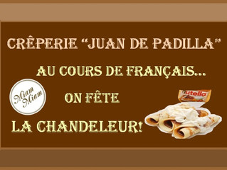 À la Chandeleur on mange des crêpes!