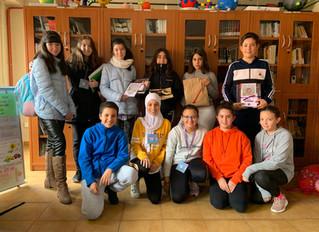 Alumnos premiados por las actividades de Halloween