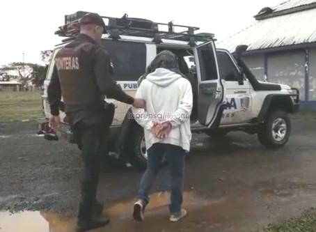 Capturan en Los Chiles, Costa Rica, a Coyote con ilegales nicaragüenses