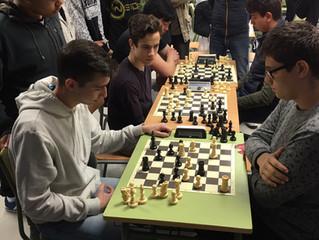 IX Torneo intercentros de ajedrez.