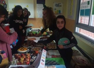 Mercadillo solidario Halloween