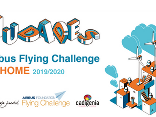 2ESO: Flying Challenge de AIRBUS en casa