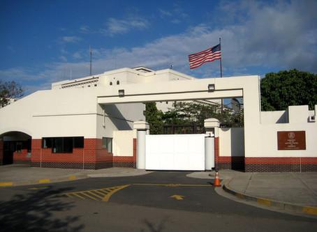 La Embajada Americana no respalda ni recomienda negocios de asesoría migratoria en El Salvador