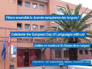 Journée Européenne des Langues. European Day of Languages.                   Día Europeo de las Leng